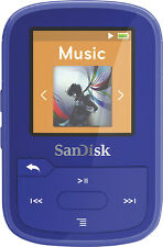 SanDisk Clip Sport Plus SDMX28016GG46B Blue (16 GB) Clip Player