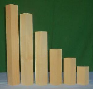 Lindenholz Linde drechseln schnitzen Schnitzholz Kantel große Auswahl 47 mm
