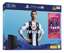 Sony PlayStation 4 Pro 1TB FIFA 19 Console Bundle - 4K HDR Jet Black