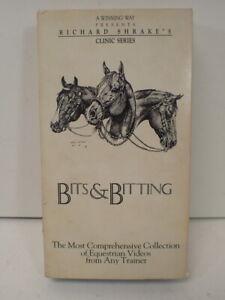Bits & Bitting VHS Tape Richard Shrake's Clinic Series Equestrian Horse Training