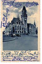 Pk, , Saarbrücken - Rathaus, Oldtimer, gel.1937