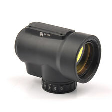 Hunting 1x25mm MRO 2.0 MOA Adjustable Red Dot Sight Black  Low High Mount