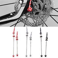 *UK SELLER*TITANIUM QUICK RELEASE MTB/ROAD BIKE SKEWERS - 1 X PAIR FRONT & BACK