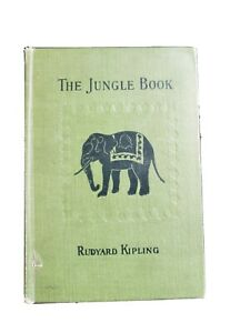 Antique First Edition Of Rudyard Kipling THE JUNGLE BOOK