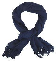 Écharpe Pour Bleu Ella Jonte Souple Noble Automne D'Hiver Laine Cachemire