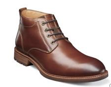 Mens Florsheim Lodge Plain Toe Chukka Boot Modern Chestnut 14284-205