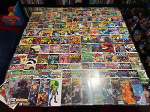 Huge Lot of 150+ DC Comics Superman Action Supergirl Crisis Death Reign Avg VF+