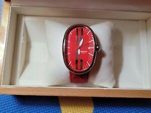 Grimoldi Milano  Borgonovo  Automatic Unisex Wristwatch  Red Dial