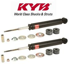 Pair Set of 2 Rear KYB Gas-a-just Shock Absorbers For Mercedes W212 E350 E550 E63 AMG Without Sport Suspension