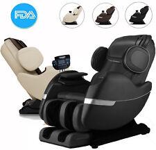 Full Body Electric Massage Chair Recliner Straight I Track 3yr Warranty!