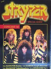 STRYPER  1987  TOUR  --  orig. Concert Poster - Konzert Plakat  A1  NEU