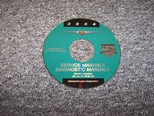 2004 Chrysler Sebring Shop Service Repair Manual DVD Convertible Sedan 2.4L