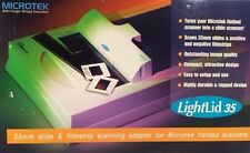 MicroTek LightLid 35mm SLIDE SCANNER Adapter Film Strip Picture Flatbed Scanners