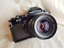 Pentax K2 Camera W/ SMC Pentax 55mm f1.8 Lens.