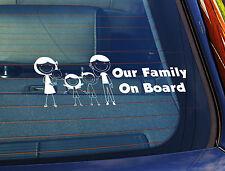 La estática coche ventana sign//decal Baby Boy a bordo de Jirafa 2