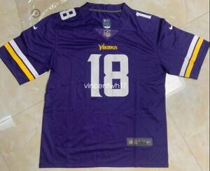 Justin Jefferson #18 Minnesota Vikings Purple Jersey
