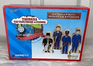 VTG Thomas & Friends Sir Topham Hatt Workman Engineers Wooden Figures 1999 99111