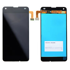 Black Touch Screen Digitizer LCD Display Assembly for Nokia Microsoft lumia N550