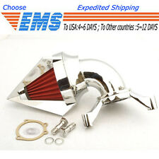 Cone Spike Air Cleaner intake for Harley CV Carburetor Delphi V-Twin CHROME