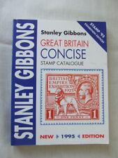 Stanley Gibbons Gran Bretaña Conciso Catalogo 1995, en muy buena condición