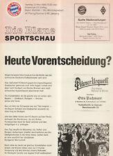 BL 87/88 FC Bayern Munich - Borussia M`gladbach(Blue)