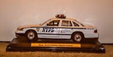 NYPD, NY CITY POLICE FORD CROWN VICTORIA Patrol Car - O Gauge Motormax
