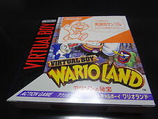 NEW Wario Land SAMPLE Version Nintendo Virtual Boy Japan