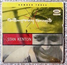"""13174 45 giri - 7"""" - Stan Kenton - Contemporary concepts"""