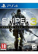 Sniper Ghost Warrior 3 Season Pass Edition PS4 Brand New *AU STOCK*