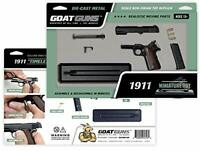 GoatGuns Miniature 1911 Toy Model | DIY Build Kit