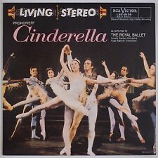 PROKOFIEFF: Cinderella Royal Ballet CLASSIC RECORDS Audiophile LSC-2135 LP NM