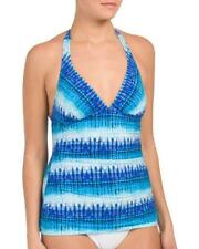PROFILE BY GOTTEX® 12 Pool Party Halter Tankini Swim Top NWT $94