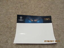 UEFA Champions League Final Cardiff June 2017 Self Adhesive Label