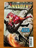 INVADERS #7 Butch Guice Main Cover A Bloody Secret Var 1st Print Marvel 2019 NM