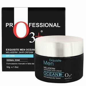 O3+ Equisite Men Ocean Meladerm 24 Hour Whitening Cream for Dry Skin, 50g