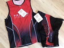 Primal Wear Cycling Triathlon Kit Tri Top Tri Shorts Men's XL