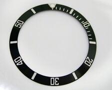 Aluminum Bezel Insert Rolex Submariner 16610 16800 16613 16800-81 Black Silver
