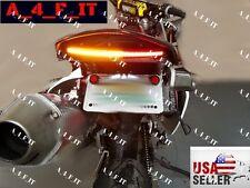 Plate Tail Light Turn Signals For KTM HONDA Super Enduro Supermoto Cross Country