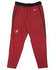 New Nike Alabama Crimson Tide Flex Practice Training Pant Men's Large Red 908376