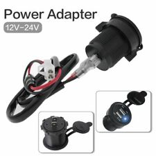 Moto USB Charger Modified Closing Design Cap Car Charger Dual Port Scooter Power