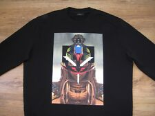 GIVENCHY TRIBAL JUMPER SWEATER SIZE XS OVERSIZE COLUMBIAN FIT XL
