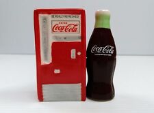 Coca-Cola Bottle & Vending Machine Salt & Pepper Shaker - BRAND NEW
