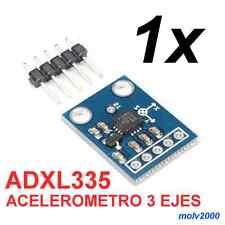 1x ADXL 335 ADXL335 Modulo Acelerometro 3 ejes Arduino - ACCELEROMETER ANALOG