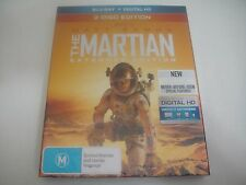 The Martian (2015) - Extended Edition Slipcover Blu-Ray Region Free | New | Rare