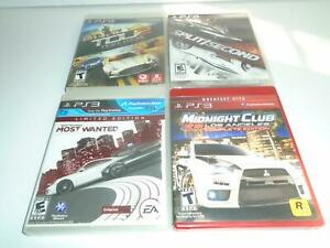 PLAYSTATION 3~NEED FOR SPEED,MIDNIGHT CLUB,TEST DRIVE,SPLIT SECOND~TESTED GREAT