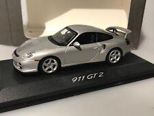 Minichamps 1:43 - Porsche 911 GT2 silber Street - WAP 020 073 11 in OVP