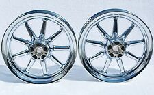 Harley Touring Electra Glide Classic FLH 2002-2008 Chrome Wheels Rims Exchange