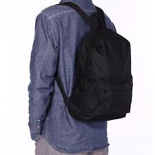 Mens Womens Backpack School Bag Travel Satchel Canvas Laptop Bag Rucksack