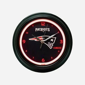 New England Patriots NFL Gametime LED Clock, FREE SHIP!