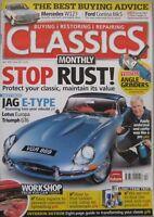 Classics magazine April 2010 featuring Jaguar, Lotus, Triumph, Elva, Turner,Ford